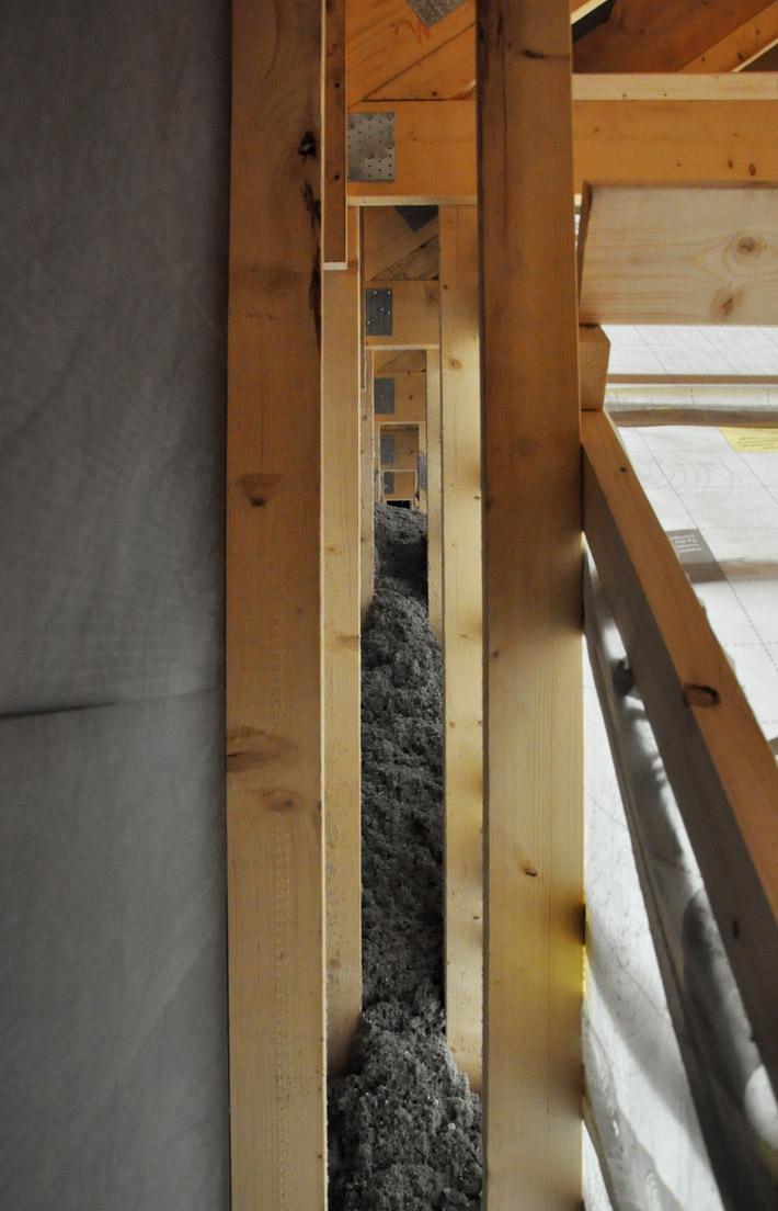 Paper wool insulation