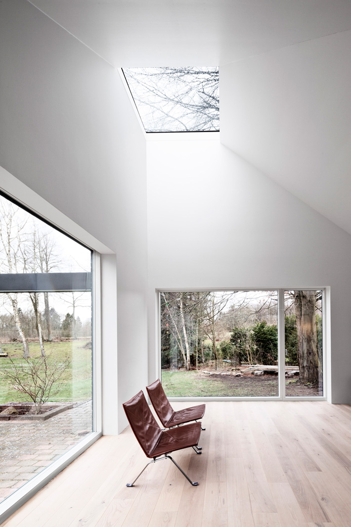 Living room skylight | Photo: STAMERS KONTOR