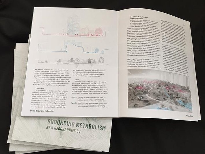 Article about Public Air Copenhagen in Geographies 06 - Grounding Metabolisme