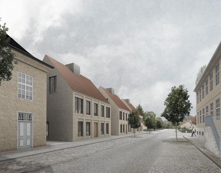 Visualisering - Nørregade set mod vest