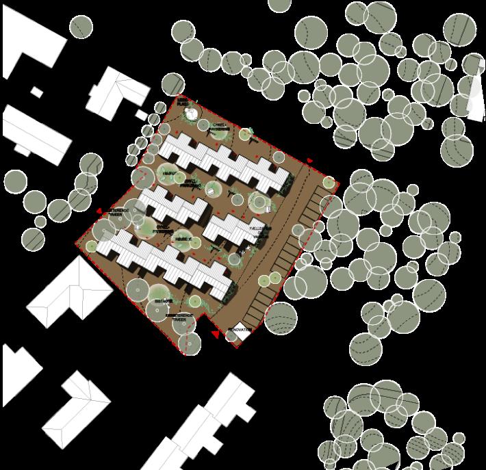 Site plan - Brændekær