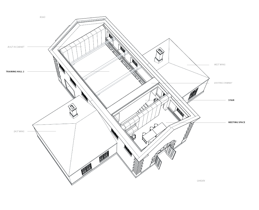 1ST FLOOR AXONOMETRIC