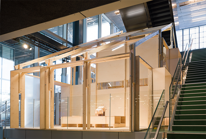 The Art of Building - View from shop - Photo: Hampus Berndtson