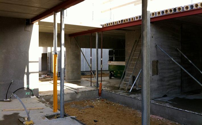 Health centre | Light court