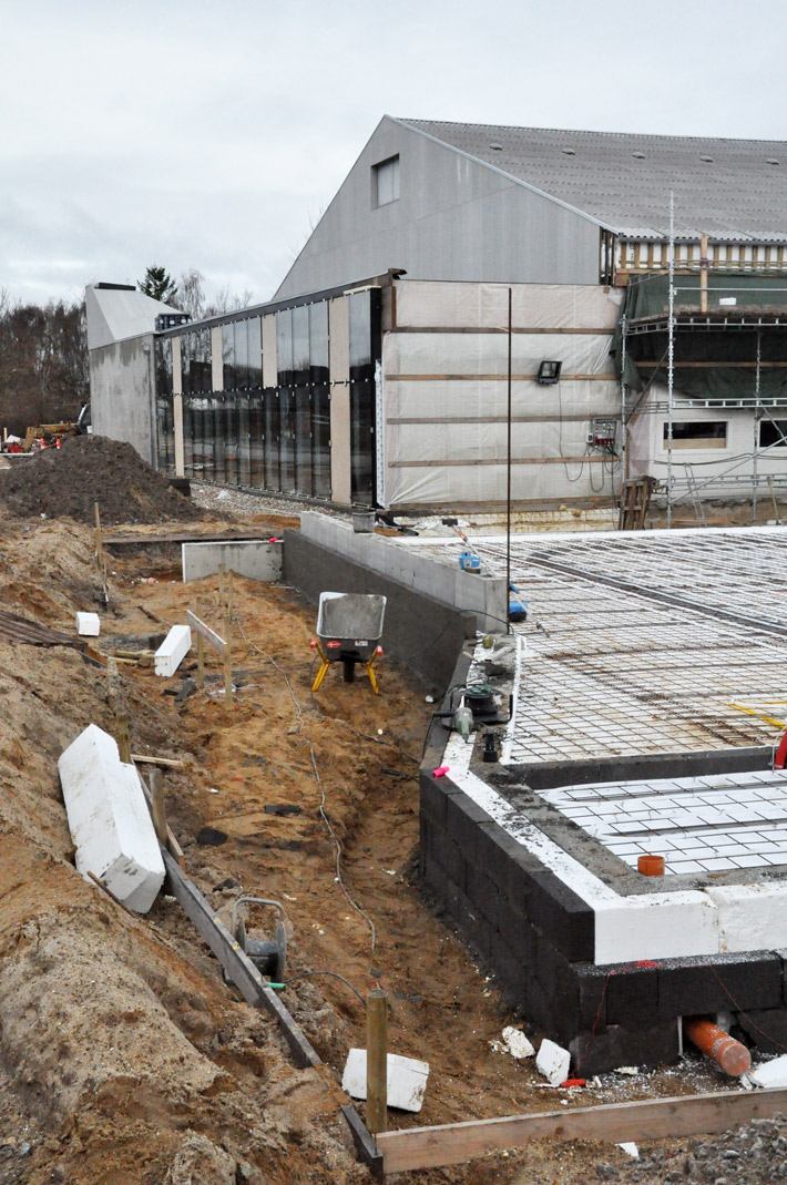 Transformation of the existing sports hall