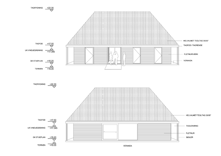North - South Elevation