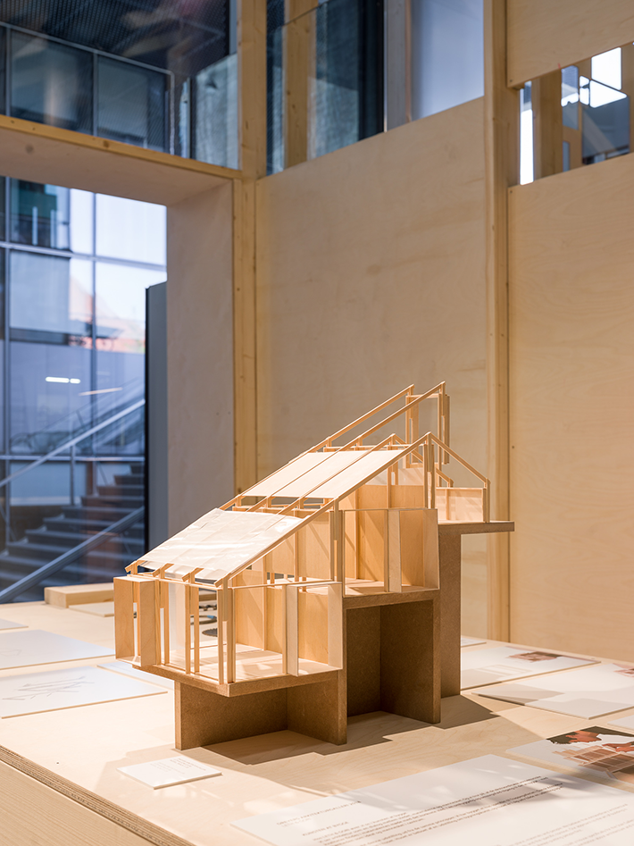 The Art of Building - Level 1 - model - Photo: Hampus Berndtson