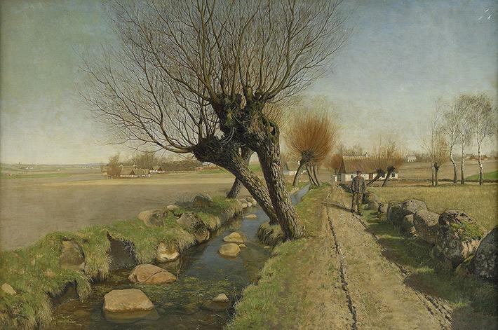 Reference: 'Landskapsvy från Skåne', Peter Adolf Persson